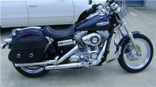 HARD BODY, LEATHER SADDL HARLEY DAVIDSON DYNA SUPERGLIDE
