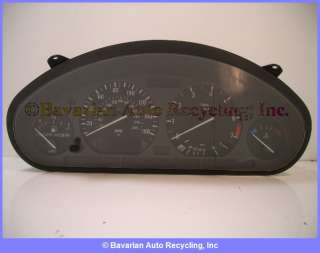 BMW Instrument Cluster E36 325 325i 325is 325ic 92 94