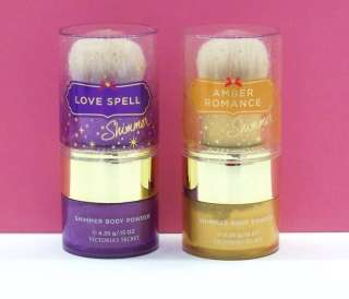 Shimmer Body Powder Love Spell, Amber Romance, Pure Seduction