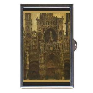 CLAUDE MONET CATHEDRAL FINE ART Coin, Mint or Pill Box