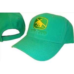 Green & Yellow John 316 Adjustable Baseball Cap Hat