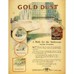 1922 Ad Fairbank Gold Dust Washing Powder Black Americana