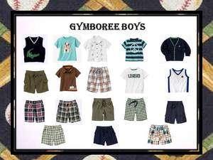 Boys lot 12 18 months GYMBOREE shirt shirts shorts sweater outfits