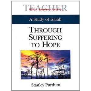 Leader Through Suffering to Hope (9780687079803) Stan Purdum Books