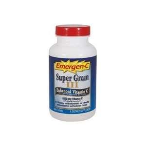 Emergen C Super Gram III Tablets, 90 count Bottle  Grocery