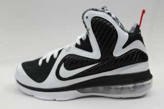 Nike Lebron 9 Big Kids Freegums White Black Red Lebron James Signature