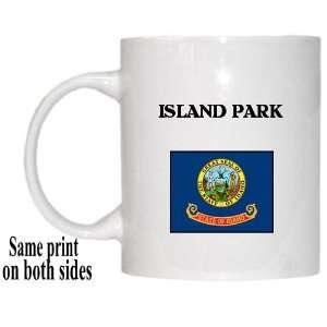 US State Flag   ISLAND PARK, Idaho (ID) Mug