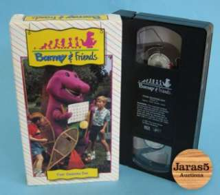 Barney & Friends Four Seasons Day VHS   1992   RARE   Time Life