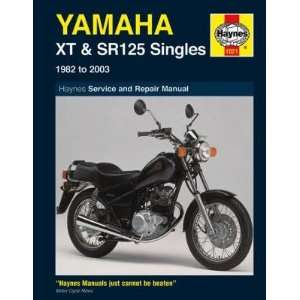 Haynes Manual   Yamaha XT SR 125 1982 2002 Automotive