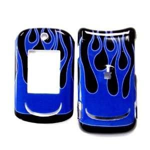 Cuffu  Blue Flame  Motorola RAZR VE20 Smart Case Cover Perfect for