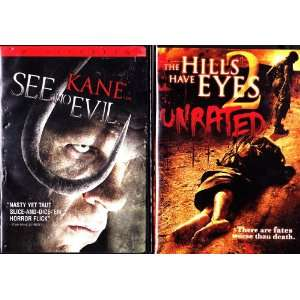 The Hills Have Eyes 2 , See No Evil : Horror 2 Pack: Movies & TV
