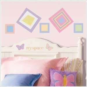 Preppy Girl Wall Stickers Toys & Games