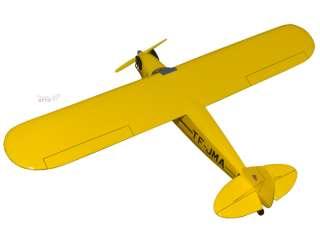 Piper Cub J 3 Wood Desktop Airplane Model