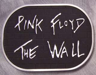 Pewter Belt Buckle Music Pink Floyd The Wall NEW