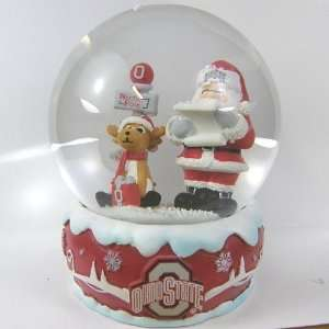 Ohio State Buckeyes 2011 NCAA Holiday Snow Globe