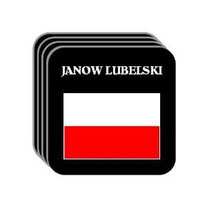 Poland   JANOW LUBELSKI Set of 4 Mini Mousepad Coasters