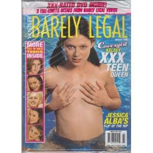 Legal March 2006 Editors of Hustlers Barely Legal Magazine Books