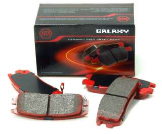 Rear] Brake Pads High Performance for Alfa Romeo Audi VW N28933