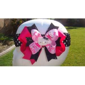 Hello Kitty Hot Pink Fuchsia Hair Bow Beauty