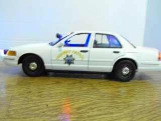 Slicktop Police Car Lights Ford Custom FCV California Highway Patrol