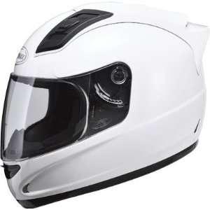 GMAX GM69 Full Face Street Helmet   Pearl White Small   72