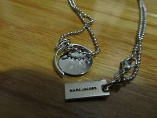 Marc Jacobs I Love You Spinning Spin Charm Pendant Necklace Charm