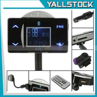 New Car  with FM Transmitter Bluetooth Steering Wheel Black