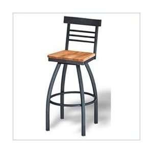 Vinyl   Naugahyde Paprika Grand Rapids Chair Karyn Swivel