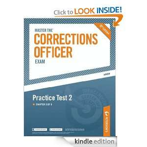 Master the Corrections Officer: Practice Test 2: Petersons: