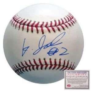 Kenji Johjima Seattle Mariners Hand Signed Rawlings MLB Baseball
