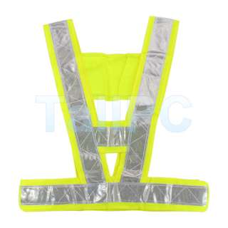 New High Safety Security Visibility Reflective Vest Gear