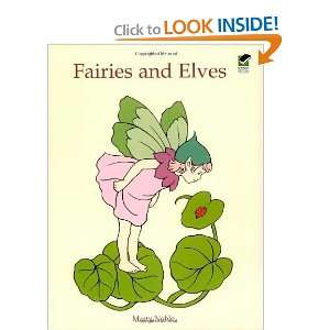 Fairies and Elves (Dover Coloring Books) [Paperback