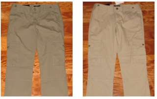 NWT Banana Republic Womens Slim Cargo Pants Ryan Fit Olive Khaki size