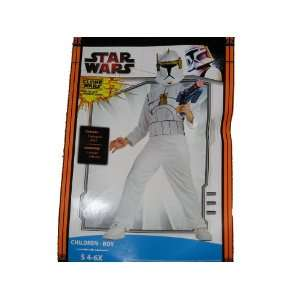 Clone Trooper Child Costume Small   4 6X Toys & Games