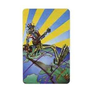 Collectible Phone Card 25u Grateful Dead Euro Dead Artwork by Gary