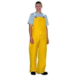 2XL Nylon Yellow COOL AIR II Fly Front Overall