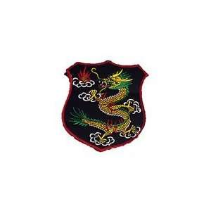 Deluxe Dragon Shield Jacket Patch Everything Else