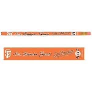 MLB San Francisco Giants Pencils & Display Bin Sports