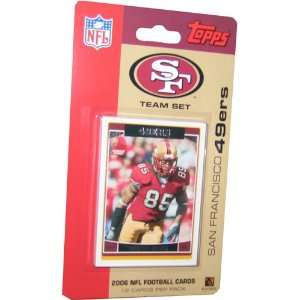 2006 Topps NFL FootballTeam Set   San Francisco 49ers