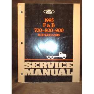 Body / Chassis Shop Service Repair Manual Ford Motor Company Books