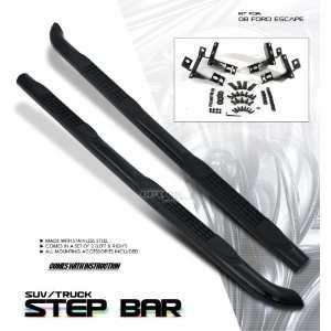 NEW 2008 FORD ESCAPE XLT/XLS BLACK SIDE STEP NERF BARS