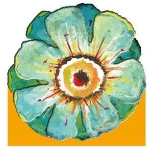 Size Paper Napkin,Blue Flower, Field of Flowers: Kitchen & Dining