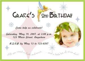 Personalized TINKERBELL Birthday Invitations   U Print!