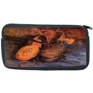 Van Gogh Art A pair of Shoes Neoprene Pencil Case