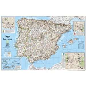 National Geographic Maps RE00622070 Spain/Portugal Map Map