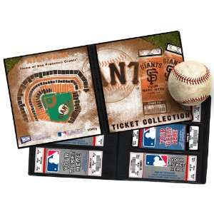 Personalized San Francisco Giants MLB Ticket Album