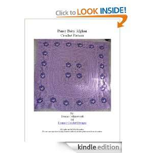 Pansy Baby Afghan Crochet Pattern Donna Collinsworth