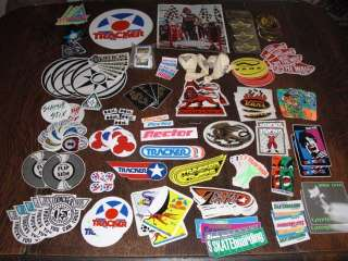 LOT 280+ Old School SKATEBOARD STICKERS og Skate SIMS TRACKER VISION