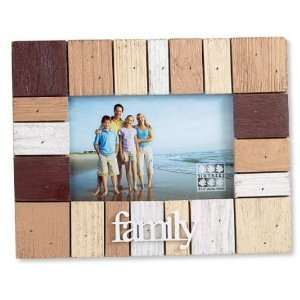 Wood Block Horizontal/Landscape Picture Frame 4x6