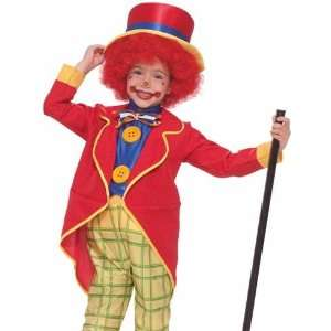 Kids Circus Clown Outfit Toddler Boys Halloween Costume Toys & Games